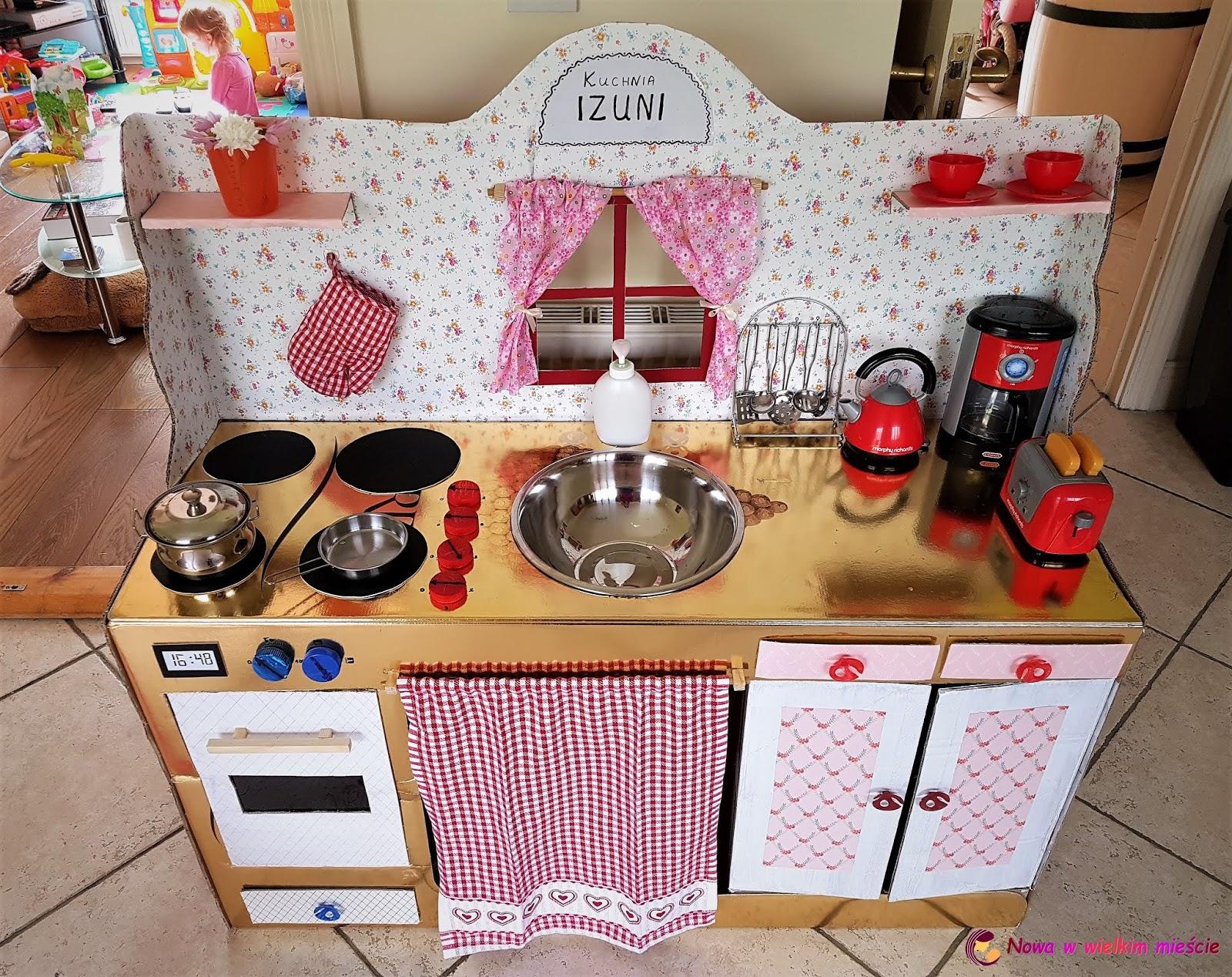 Jak Zrobić Kuchnię Z Kartonu Dla Dziecka Nowa W Wielkim