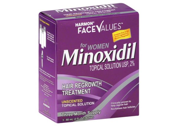 minoxidil queda de cabelo