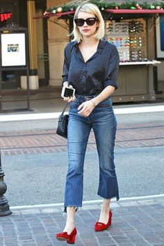Cropped Flared Jeans - Cómo Usarlos