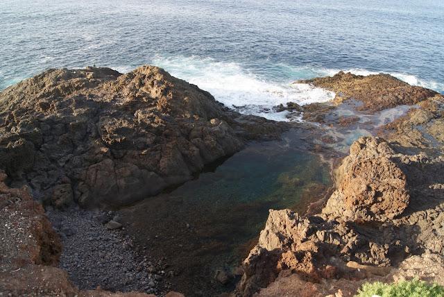 piscinas naturales del norte de Gran Canaria-charco de los espejos