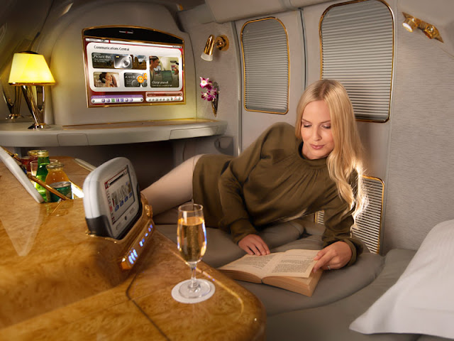 Private Suite Cabins Emirates A380