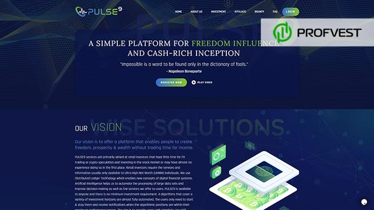 Pulse9 обзор и отзывы HYIP-проекта