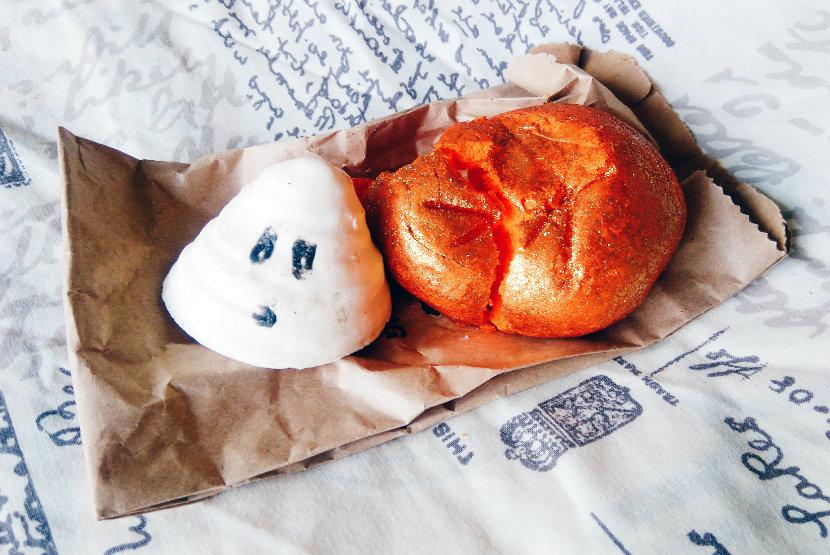 Lush Boo and Sparkly Pumpkin