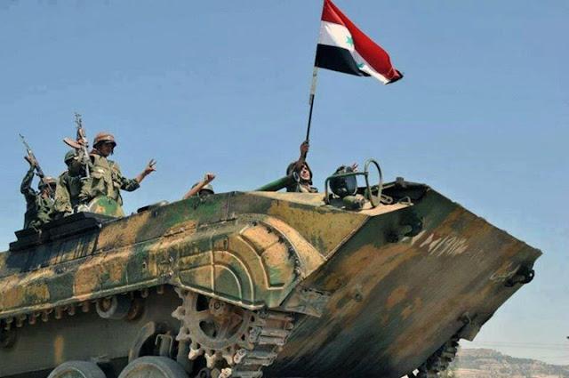 وحدات الجيش السوري تتابع تقدمها في عمق تلول الصفا وتدمر مقرات لإرهابيي داعش ببادية السويداء