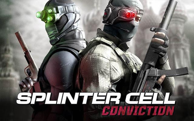 تحميل لعبة الاكشن splinter cell conviction كاملة للكمبيوتر برابط  واحد مباشر مضغوط ميديا فاير مجانا