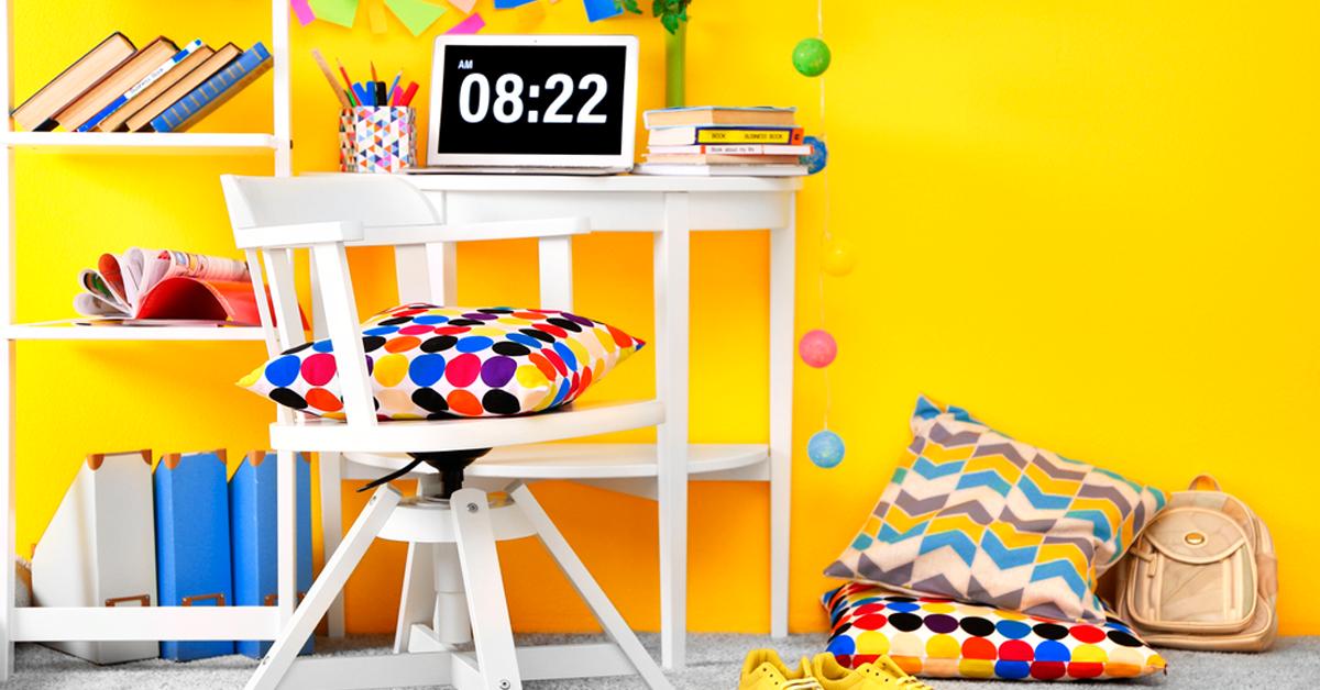 decoração moderna para quartos de adolescentes pintar a casa o