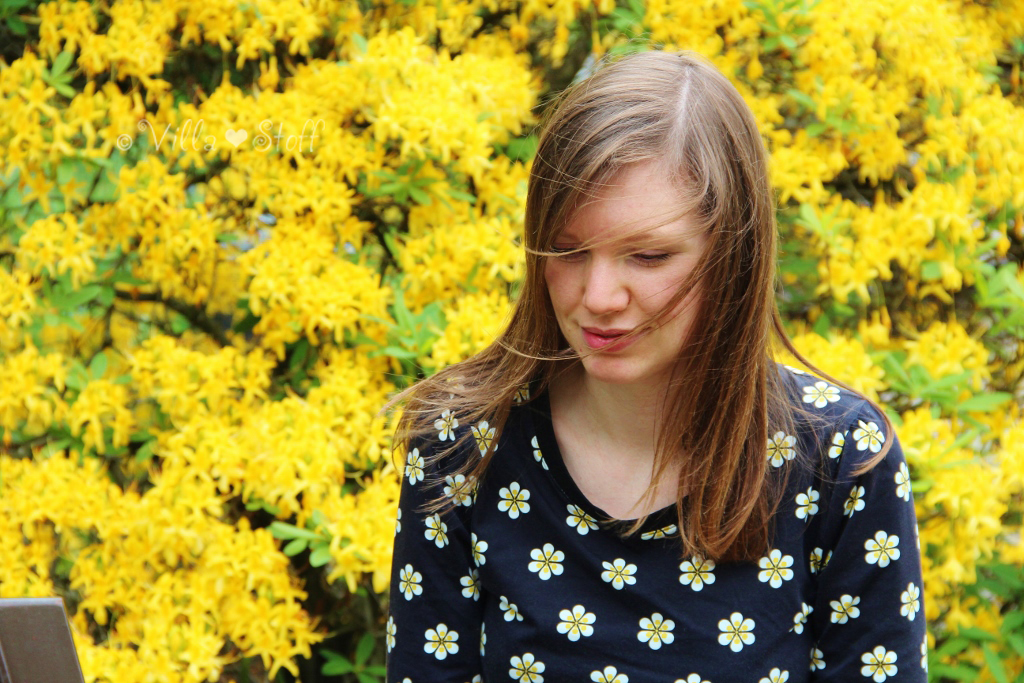 nähen für mich | Blumen Shirt mit NOSH organics