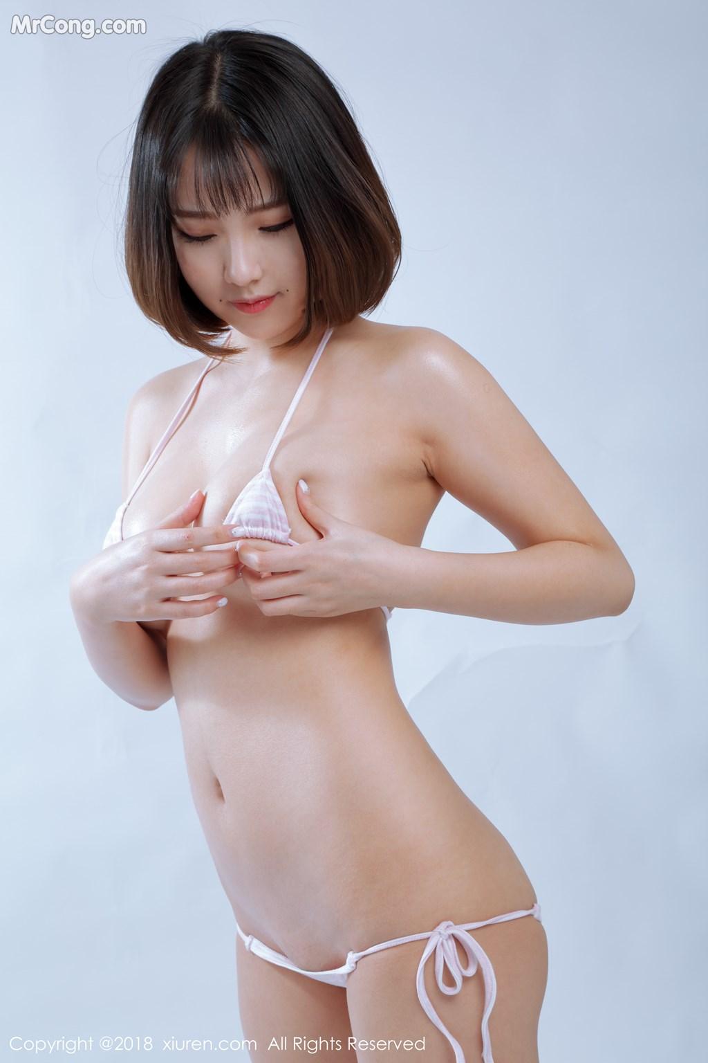Image XIUREN-No.1129-Xiao-Mo-Nu-Nai-Nai-MrCong.com-007 in post XIUREN No.1129: Người mẫu 小魔女奈奈 (41 ảnh)