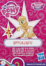 My Little Pony Wave 17 Applejack Blind Bag Card