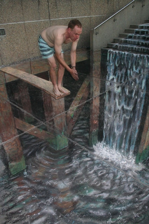 13-Taking-the-Plunge-Julian-Beever-3D-Pavement-Drawings-Anamorphic-Illusions-www-designstack-co