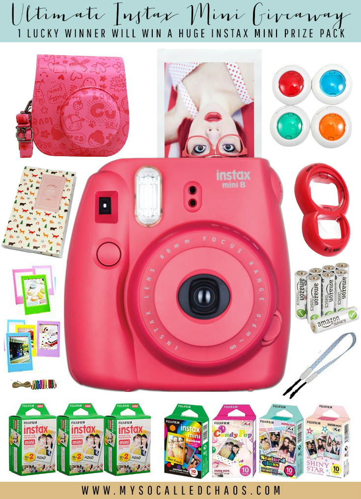 HUGE Instax Mini Prize Pack #Giveaway!