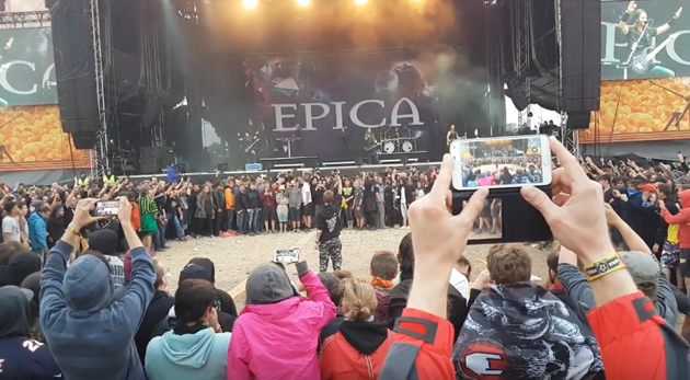 Epica wall of death