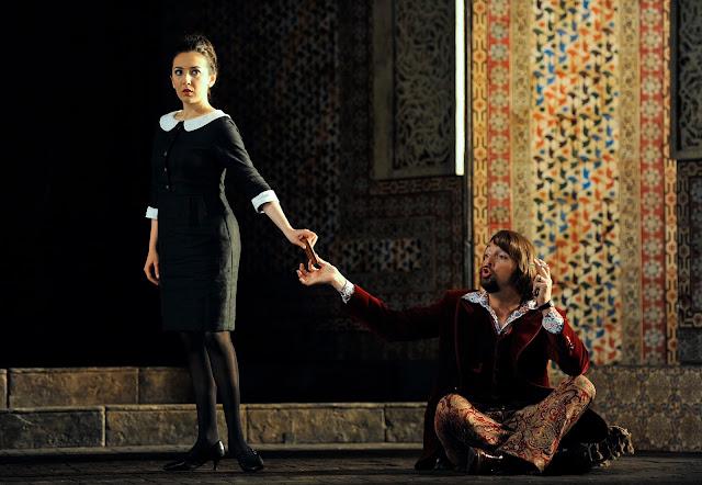 Rosa Feola, Gyula Orendt - Le nozze di Figaro - Glyndebourne - photo Robbie Jack