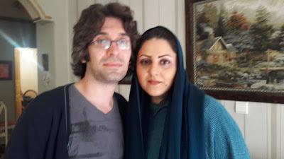 گلرخ ایرایی و آرش صادقی