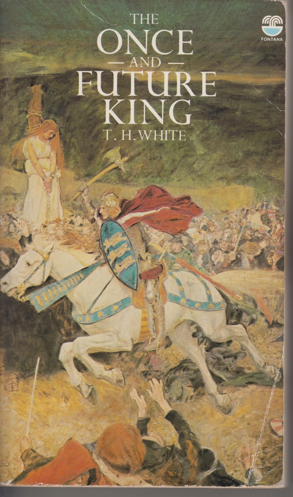 an examination of the book the once and future king by t h white Th white's 'once and future king'  while studying at cambridge, white  returned to morte d' arthur, writing an essay on the  by 1941, he had finished  the final volume, the book of merlyn, turning in the manuscript for the.