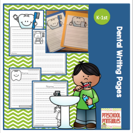 Free preschool writing pages