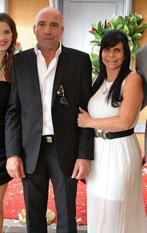Casamento civil, Gretchen e Carlos, vestido