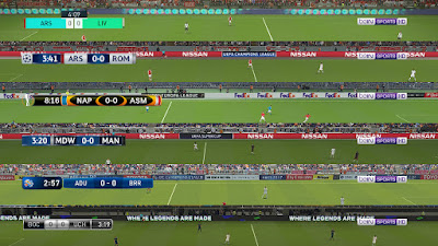 PES 2018 Default Scoreboards + TV Logo by Txak