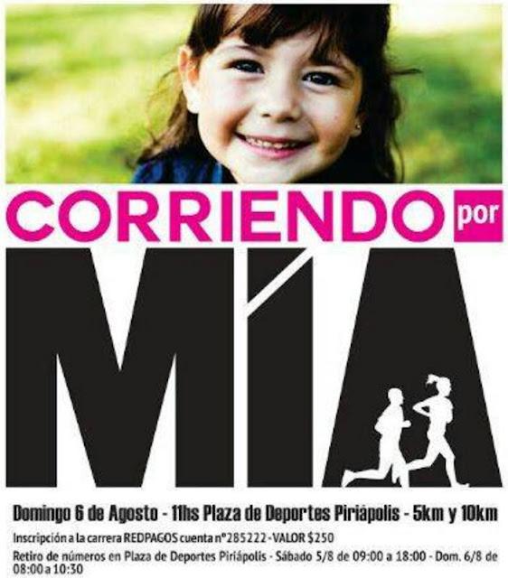 10k y 5k Corriendo por Mía en Piriápolis (Maldonado, 06/ago/2017)