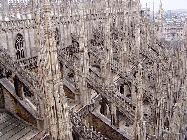 Traffic Travel In Pictures Duomo Di Milano Milan