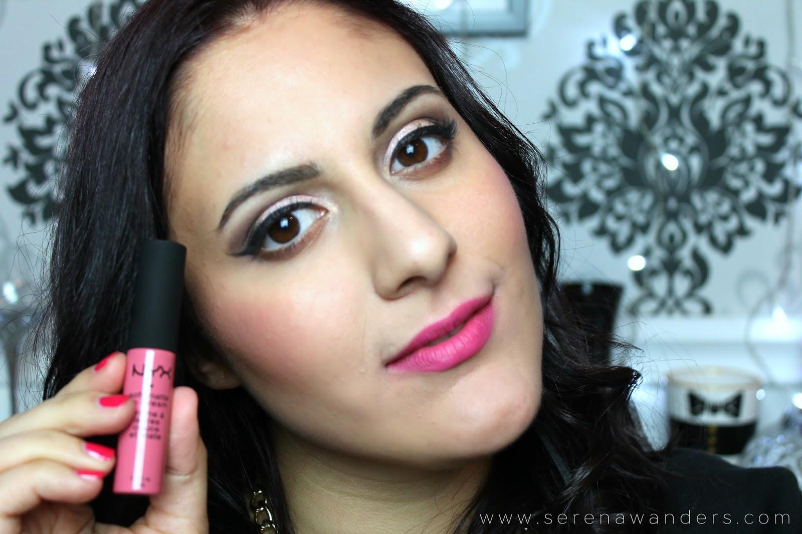 Serena Wanders Liquid Lipstick Collection