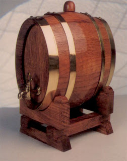 tonel licor vino 2 litros