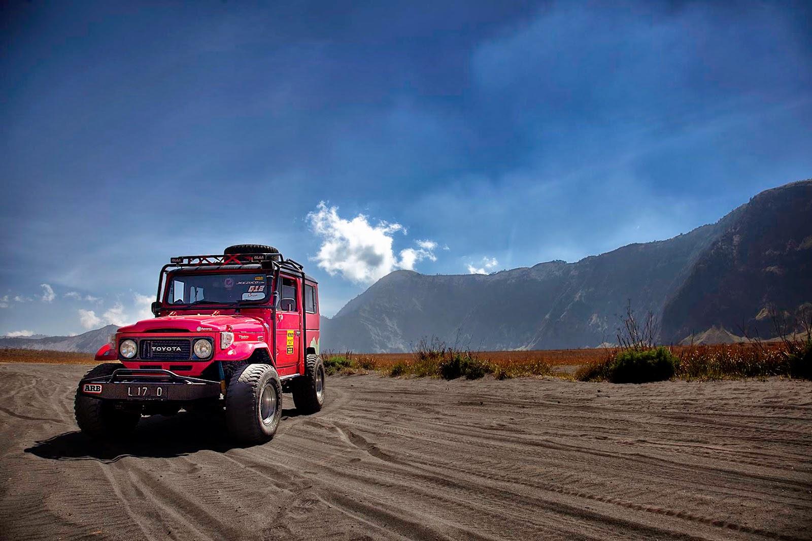 Jasa Persewaan Jeep Di Bromo