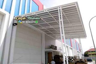 Canopy Minimalis Atap Spandek
