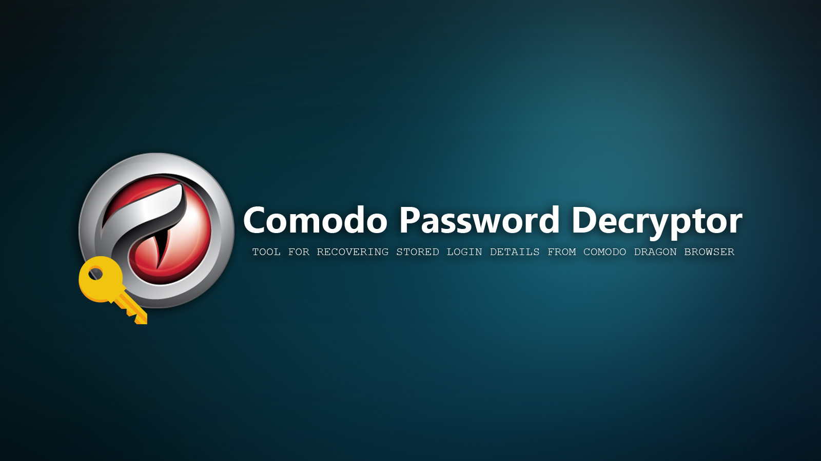 Comodo Password Decryptor