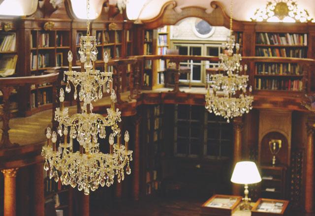 Leopoldskron library