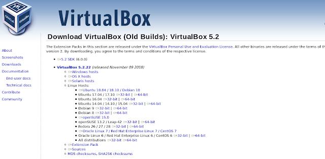descargar virtualbox para ubuntu 32 bits
