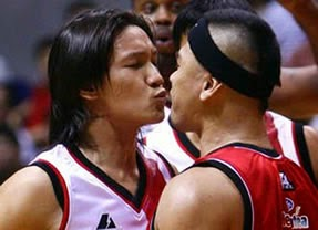 Alex Cabagnot and Mark Caguioa