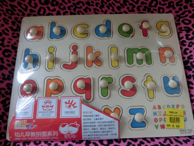 ABC board for kids to learn ABC and colors