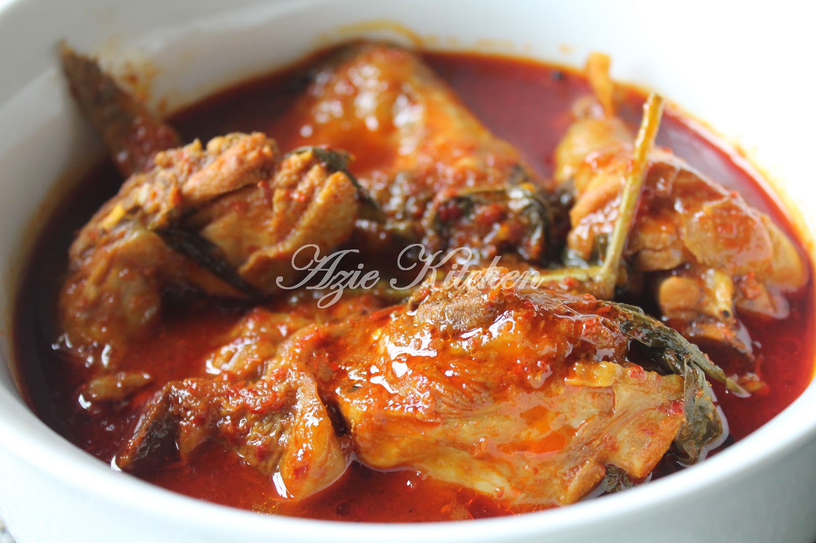 Masak Asam Pedas Ayam Azie Kitchen