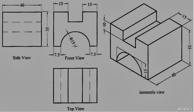 All about manufacturing: tutorial draw the solid design using.