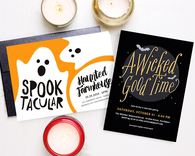 custom halloween cards