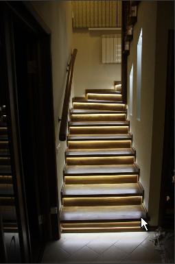 Подсветка ступеней лестницы Севастополь