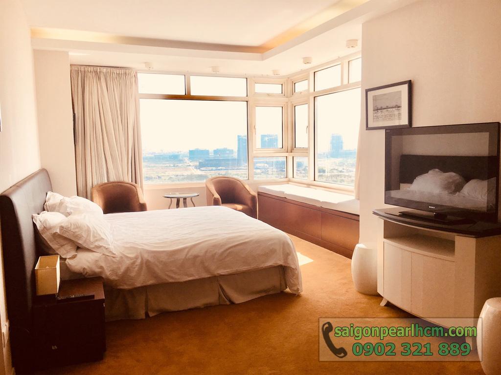 Cho thuê Saigon Pearl căn hộ 4 phòng ngủ 206m2 Ruby 1 view sông Sài Gòn - hình 15