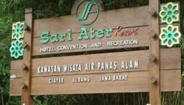 Wisata Sariater atau Ciater