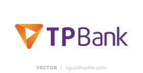 Logo ngân hàng TPBANK vector