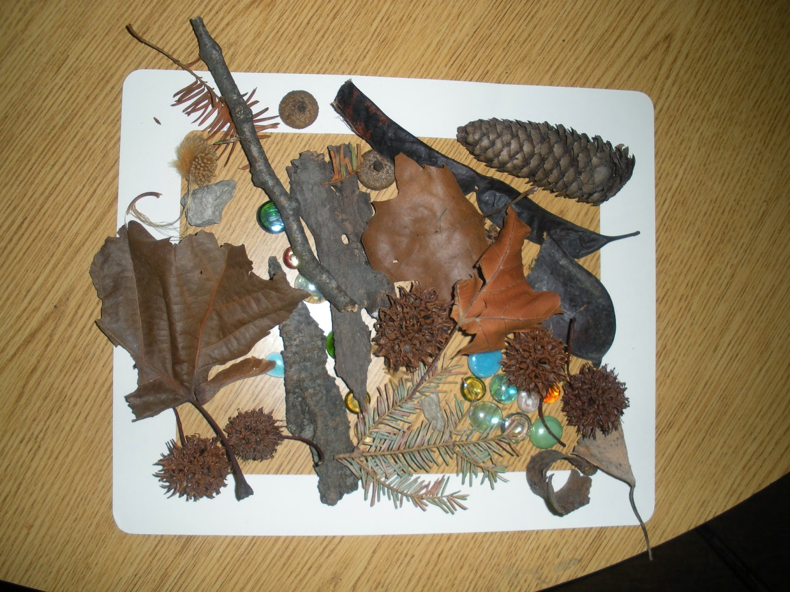 Preschool Ponderings Nature Art