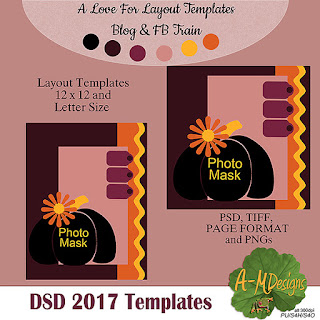 DSD Love for Layout Templates Blog Train - October 2017