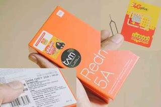 bundle paket redmi 5a dengan im3 ooredoo
