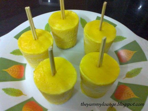 How to Make Mango Kulfi Recipe without Condensed Milk