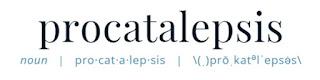 How to Pronounce Procatalepsis