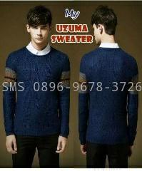 sweater-af biru keren