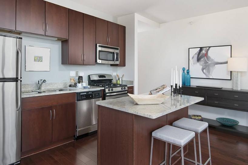 Contoh Desain interior dapur dengan konsep yang minimalis