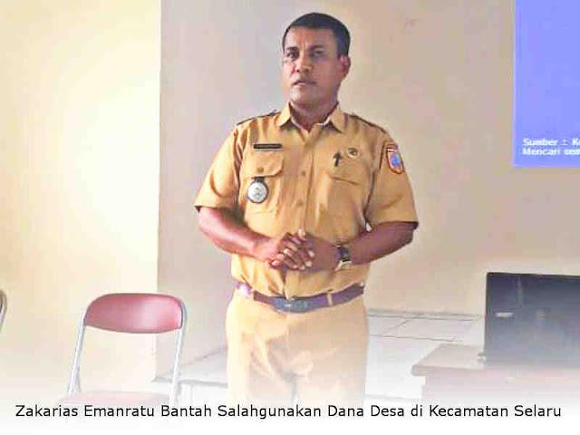 Zakarias Emanratu Bantah Salahgunakan Dana Desa di Kecamatan Selaru
