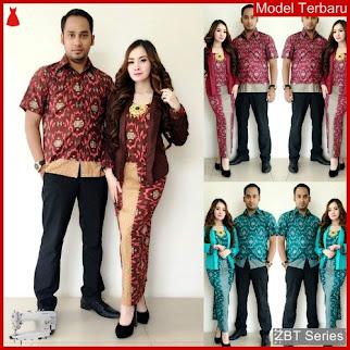 ZBT08209 Kebaya Batik Couple Aliera Setelan Muslim BMGShop