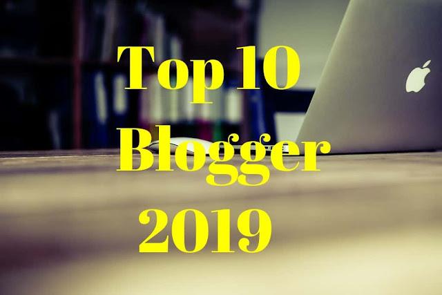 Top 10 Blogger In India(Hindi)